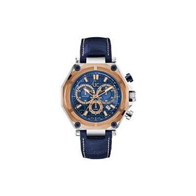 Guess Gc Collection Men's Leather Watch X10002g7s 並行輸入品