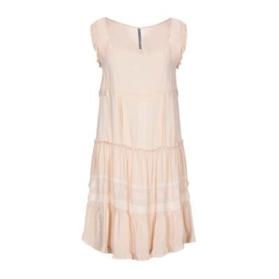 マニラ グレース MANILA GRACE ミニワンピース&ドレス サンド 42 レーヨン 98% / ポリウレタン 2% ミニワンピース&ドレス