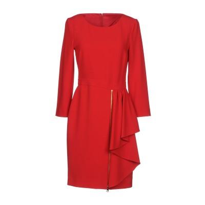 BOUTIQUE MOSCHINO ミニワンピース&ドレス レッド 44 70% トリアセテート 30% ポリエステル ミニワンピース&ドレス