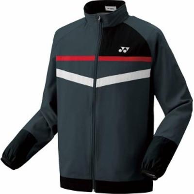 ヨネックス テニス 男女兼用 テニスウェア ユニ ウィンドウォーマーシャツ フィットスタイル 18 チャコール ウインドウェア(70062-075)