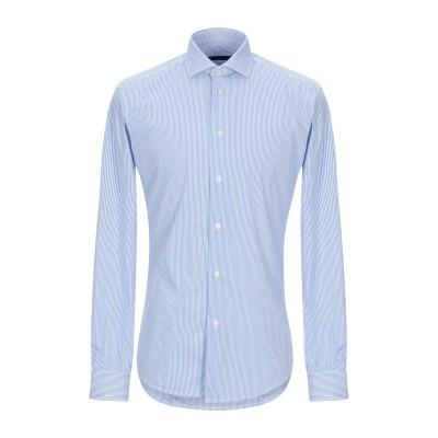 ブライアン デールズ BRIAN DALES シャツ スカイブルー 42 コットン 80% / ナイロン 15% / ポリウレタン 5% シャツ