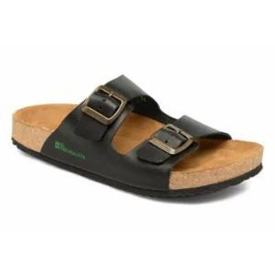 El Naturalista レディースサンダル El Naturalista Sandals Waraji NE30 Black Smooth Leath