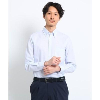TAKEO KIKUCHI / タケオキクチ リネン混ボタンダウン ビジネスシャツ