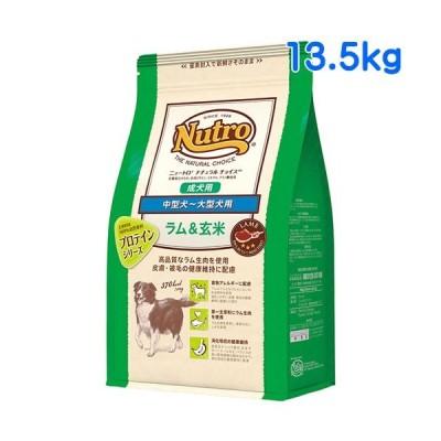 ニュートロ ナチュラルチョイス ラム&玄米 中型犬用〜大型犬用 成犬用 13.5kg