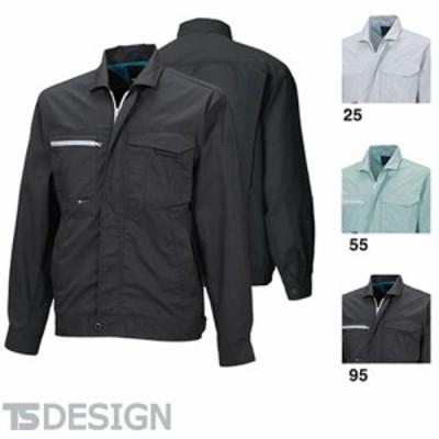 TS Design 藤和 1606 冷却ブルゾン メンズ 春夏 作業服 作業着 ワークウエア