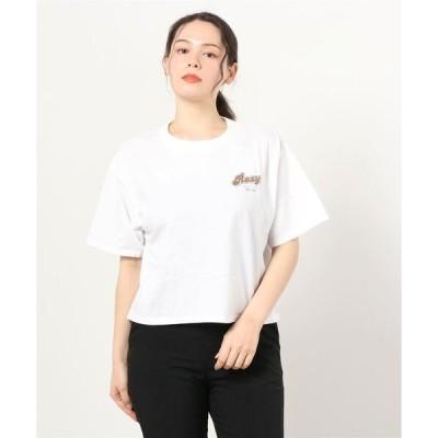 tシャツ Tシャツ ROXY/ロキシー   ルーズシルエット  ヤシの木バックプリントTシャツ  RST211078