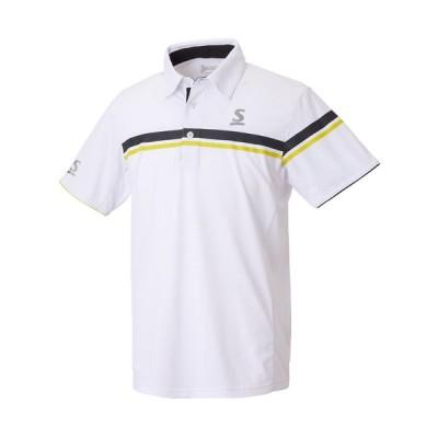 スリクソン(SRIXON) テニスウェア ユニセックス ポロシャツ SDP-1801 ホワイト L