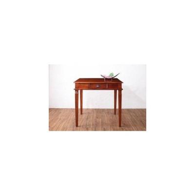 ダイニングテーブル おしゃれ 北欧 食卓 モダン 会議 事務所 ( 机 幅80 正方形 ) 2人用 一人暮らし コンパクト 小さめ 無垢 引き出し 収納 アジアン