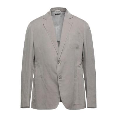 ジョルジオ アルマーニ GIORGIO ARMANI テーラードジャケット ドーブグレー 56 リネン 60% / シルク 40% テーラードジャケ
