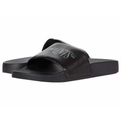 オールセインツ メンズ サンダル シューズ Bracket Pool Slide Black
