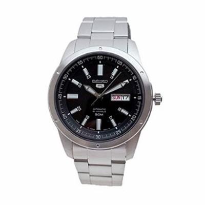 セイコー SEIKO 腕時計 SNKN13J1 セイコー5 SEIKO5 自動巻き ブラック シル(中古品)