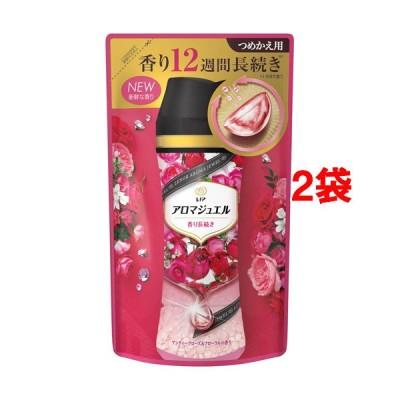レノアハピネス アロマジュエル アンティークローズ&フローラルの香り つめかえ用 ( 415ml*2袋セット )/ レノアハピネス アロマジュエル