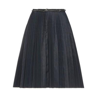 マウリツィオ ペコラーロ MAURIZIO PECORARO デニムスカート ブルー 44 コットン 82% / ポリエステル 18% デニムスカート