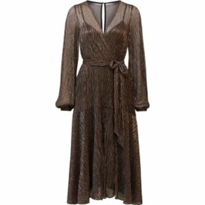 フォーエバーニュー Forever New レディース ワンピース ミドル丈 ワンピース・ドレス Jemima Plisse Midi Dress Black
