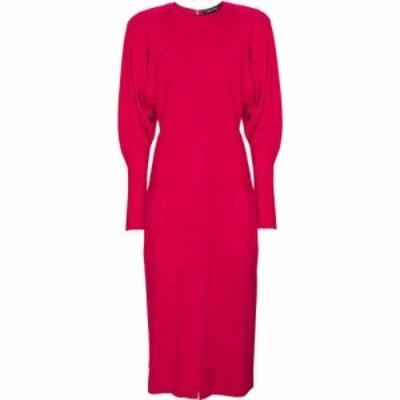 イザベル マラン Isabel Marant レディース ワンピース ミドル丈 ワンピース・ドレス Venia corduroy midi dress Fuchsia