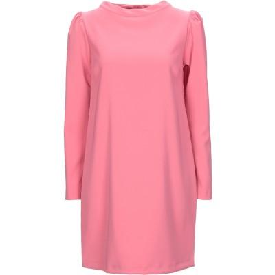 KAOS JEANS ミニワンピース&ドレス ピンク 42 ポリエステル 88% / ポリウレタン 12% ミニワンピース&ドレス