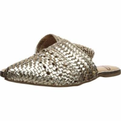 サム エデルマン Sam Edelman レディース ローファー・オックスフォード シューズ・靴 Natalya Molten Gold Woven Leather