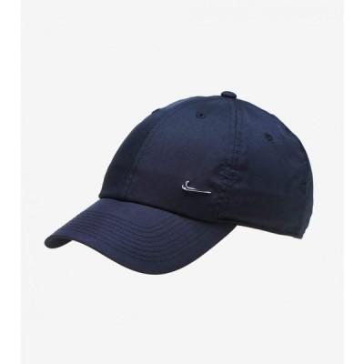 ナイキ Nike メンズ キャップ 帽子 heritage 86 metal swoosh cap BLACK/SILVER