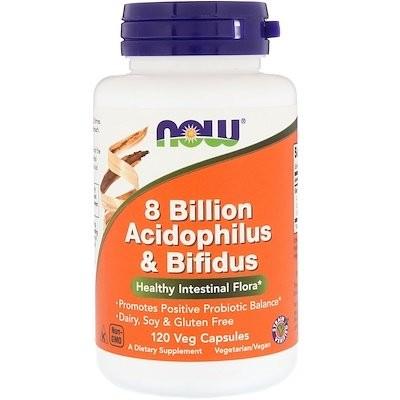 80億の乳酸菌とビフィズス菌、植物性カプセル 120粒