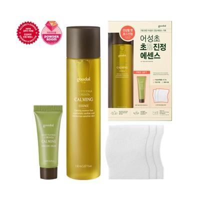 Goodal HOUTTUYNIA CORDATA CALMINGエッセンス150ml / 韓国の有名化粧品ブランドの人気血清エッセンススキンケア水分補給肌の保湿