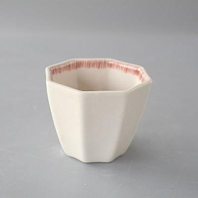 小鉢 赤十草 八角小鉢