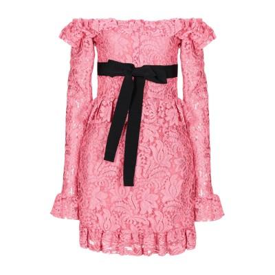 BROGNANO ミニワンピース&ドレス ピンク 40 ナイロン 42% / コットン 33% / レーヨン 25% ミニワンピース&ドレス