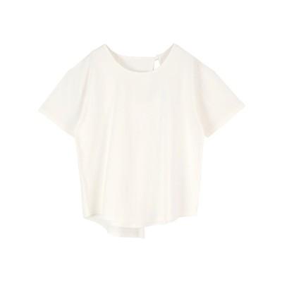 ティティベイト titivate バックデザインカットソーTシャツ (オフホワイト)