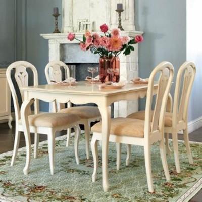 家具 収納 テーブル 机 ダイニングテーブル エレガントクラシックシリーズ ダイニングテーブル 幅140cm H07301