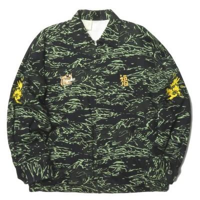 エヌハリウッド N.HOOLYWOOD EXCHANGE SERVICE 18AW VIETNAM JACKET ベトナムジャケット 982-BL02-062 pieces 40 ベトジャン タイガーカモ