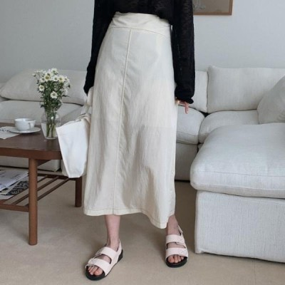 HEYLADY レディース スカート Half stitch skirt