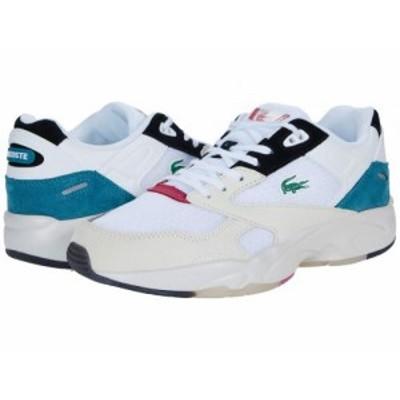 Lacoste ラコステ メンズ 男性用 シューズ 靴 スニーカー 運動靴 Storm 96 Lo 0921 1 White/Dark Turquoise【送料無料】