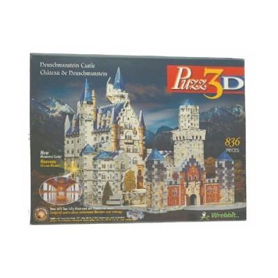 Puzz 3D - ノイシュバンシュタイン城 パズル