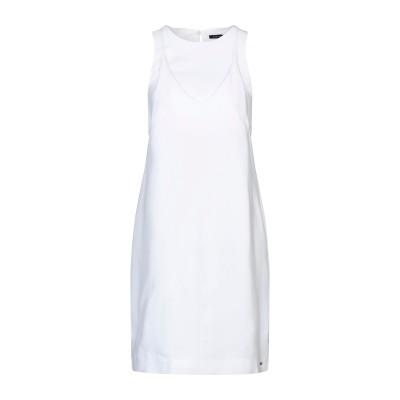 ARMANI EXCHANGE ミニワンピース&ドレス ホワイト 4 ポリエステル 100% ミニワンピース&ドレス