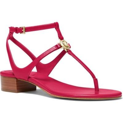 マイケル コース Michael Kors レディース サンダル・ミュール シューズ・靴 Lita Thong Sandals Dark Raspberry