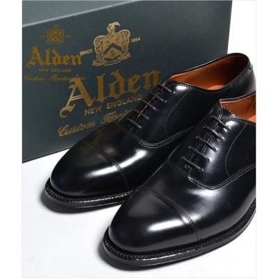 ALDEN #907 オールデン ストレートチップ(CAP TOE) カーフスキン Straight Tip Bal Calfskin オールデン 本革 シューズ