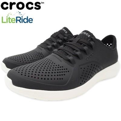 クロックス スニーカー crocs メンズ 男性用 ライトライド ペイサー ( crocs LITERIDE PACER SNEAKER 靴 シューズ SHOES サンダル 204967 )
