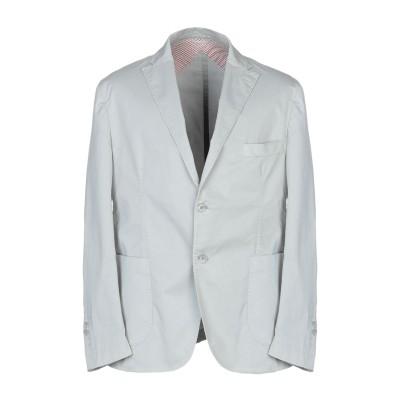RAPHAEL テーラードジャケット ライトグレー 52 コットン 97% / ポリウレタン 3% テーラードジャケット