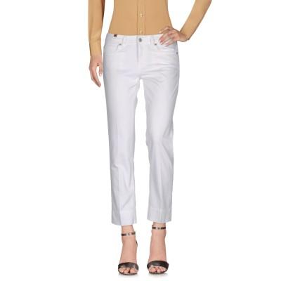 ノティファイ ATELIER NOTIFY パンツ ホワイト 27 コットン 98% / ポリウレタン 2% パンツ