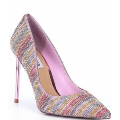 スティーブ マデン レディース ヒール シューズ Vivacious Rhinestone Embellished Stiletto Pumps Pink/Multi