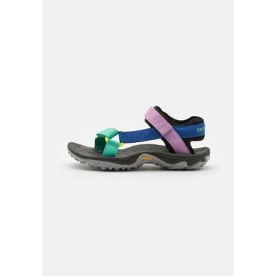 メレル レディース サンダル KAHUNA - Walking sandals - multicolor