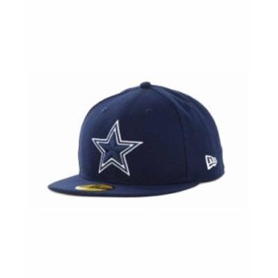 ニューエラ メンズ 帽子 アクセサリー Dallas Cowboys NFL Classic On Field 59FIFTY Fitted Cap Navy