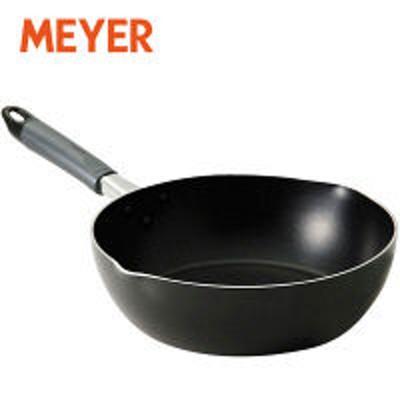 マイヤージャパンマイヤー (MEYER) フジマルブラック ディープパン 24cm ガス火専用 FE-DP24