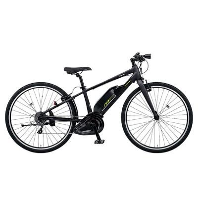 PANASONIC BE-ELHC339-B マットチャコールブラック ジェッター 電動アシスト自転車(700×38C・外装8段) メーカー直送