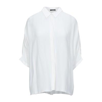 HANITA シャツ ホワイト XXS レーヨン 100% シャツ