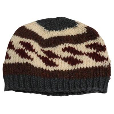 帽子 ネパールウール・ニットキャップ12 クリックポスト選択 送料200円