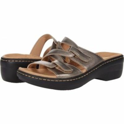 クラークス Clarks レディース サンダル・ミュール シューズ・靴 Merliah Karli Metallic Leather