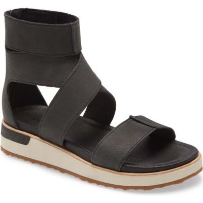 メレル MERRELL レディース サンダル・ミュール シューズ・靴 Roam Cross Sandal Black Leather