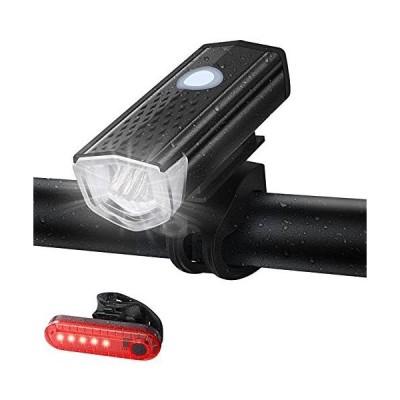 自転車 ライト 自転車用ヘッドライト usb充電式 IPX6防水 Doormoon 800ルーメン 3つ照明モード ledライト 明るい ロ