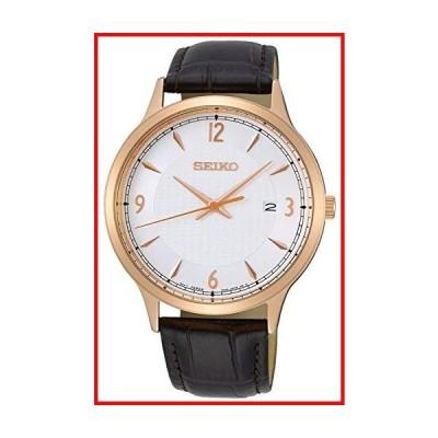 セイコー ネオ クラシック メンズ アナログ クォーツ 腕時計 レザーブレスレット付き SGEH88P1