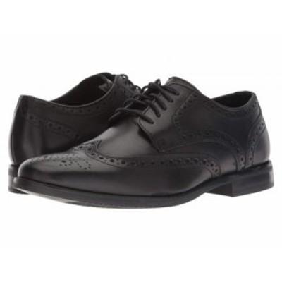 Rockport ロックポート メンズ 男性用 シューズ 靴 オックスフォード 紳士靴 通勤靴 Style Purpose Wingtip Black【送料無料】